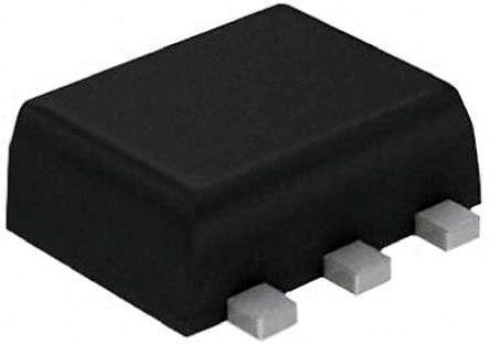 DiodesZetex Diodes Inc BC847BV-7 Dual NPN Transistor, 100 mA, 45 V, 6-Pin SOT-563 (50)