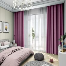 1pc Plain Blackout Curtain