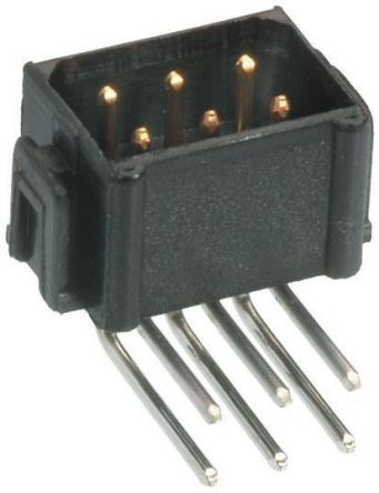 HARWIN , Datamate L-Tek, 6 Way, 2 Row, Right Angle PCB Header