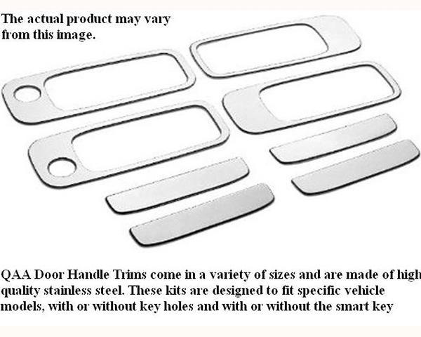 Quality Automotive Accessories Stainless Steel Door Handle Trim BMW 325i 1992