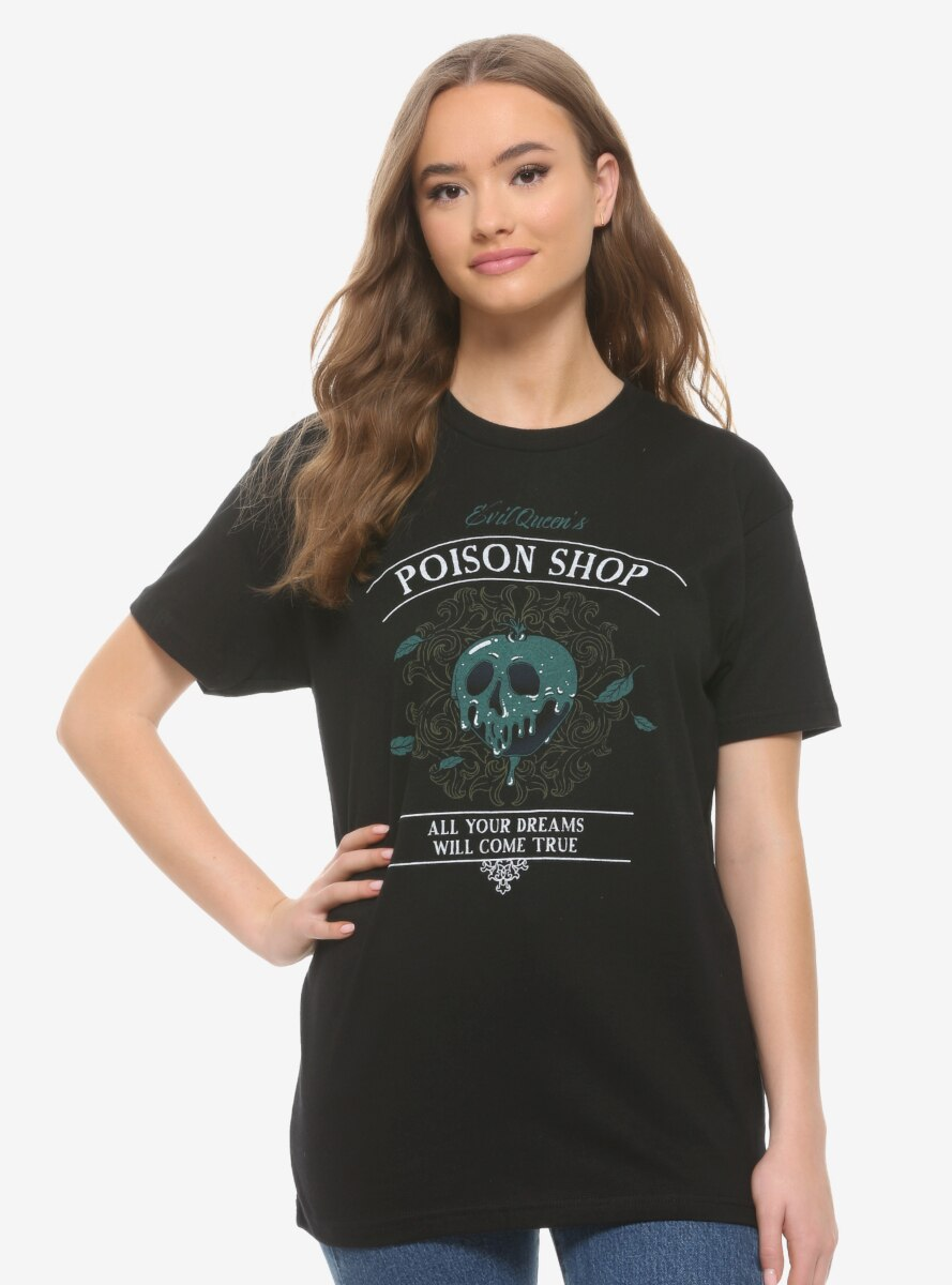 Disney Snow White and the Seven Dwarfs Evil Queen's Poison Shop Women's T-Shirt - BoxLunch Exclusive