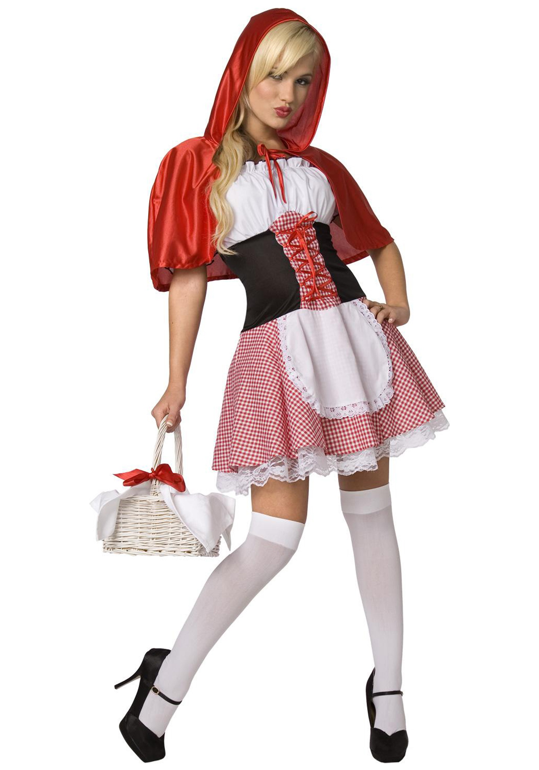 Sexy Plus Size Little Red Riding Hood Costume
