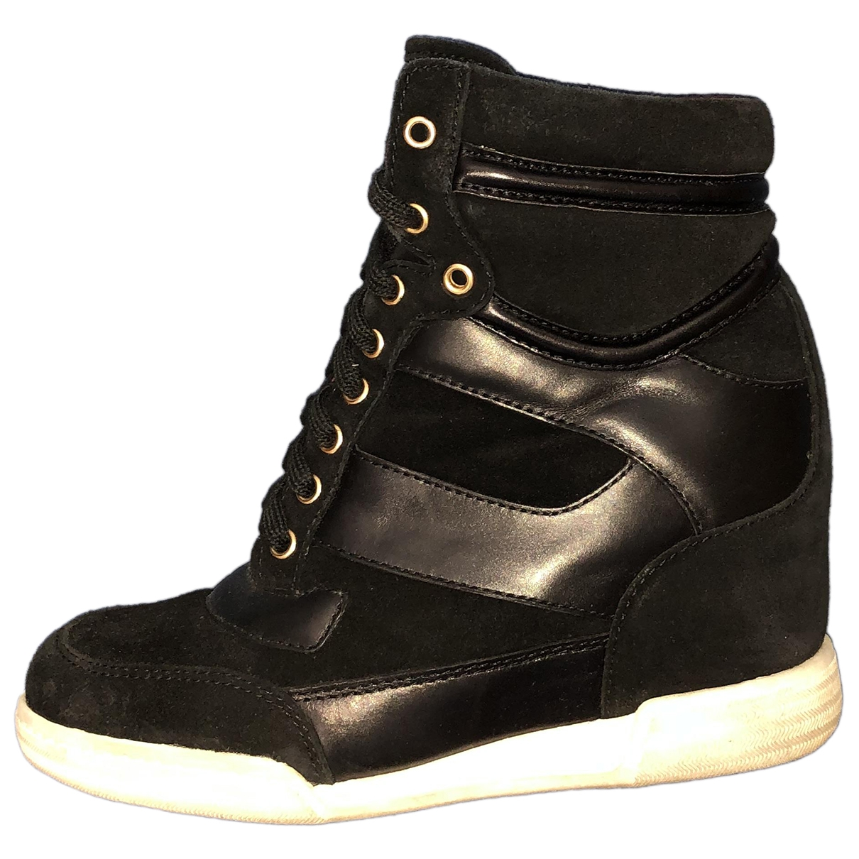 Marc By Marc Jacobs \N Black Leather Trainers for Women 38 EU