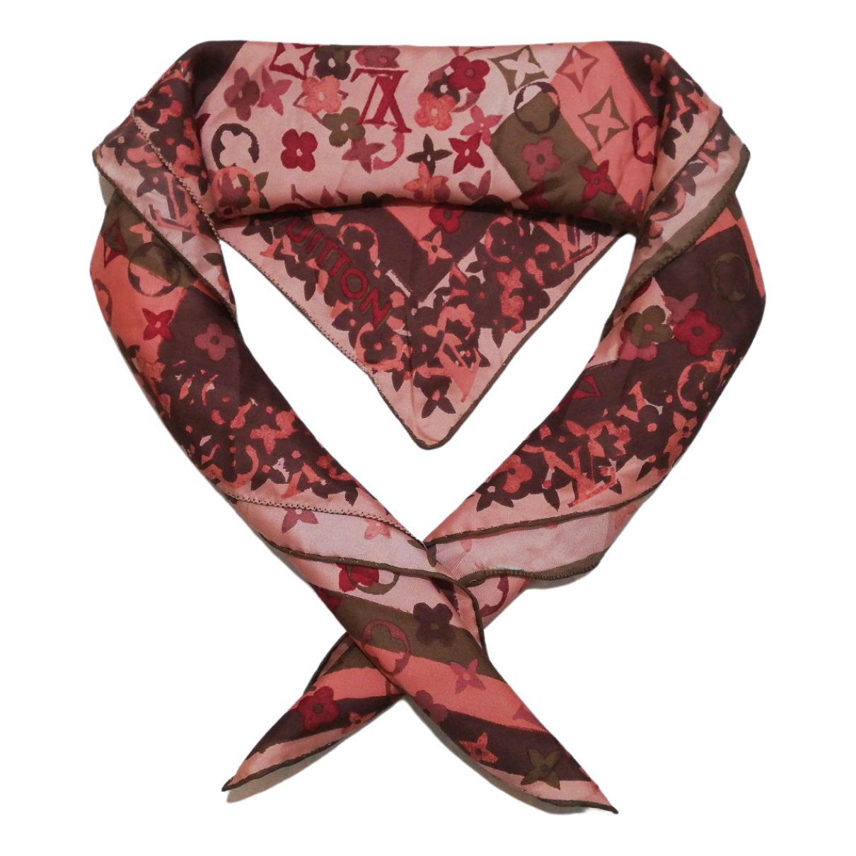 Louis Vuitton \N Multicolour Silk scarf for Women \N