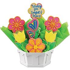Peace & Comfort Cookie Bouquet
