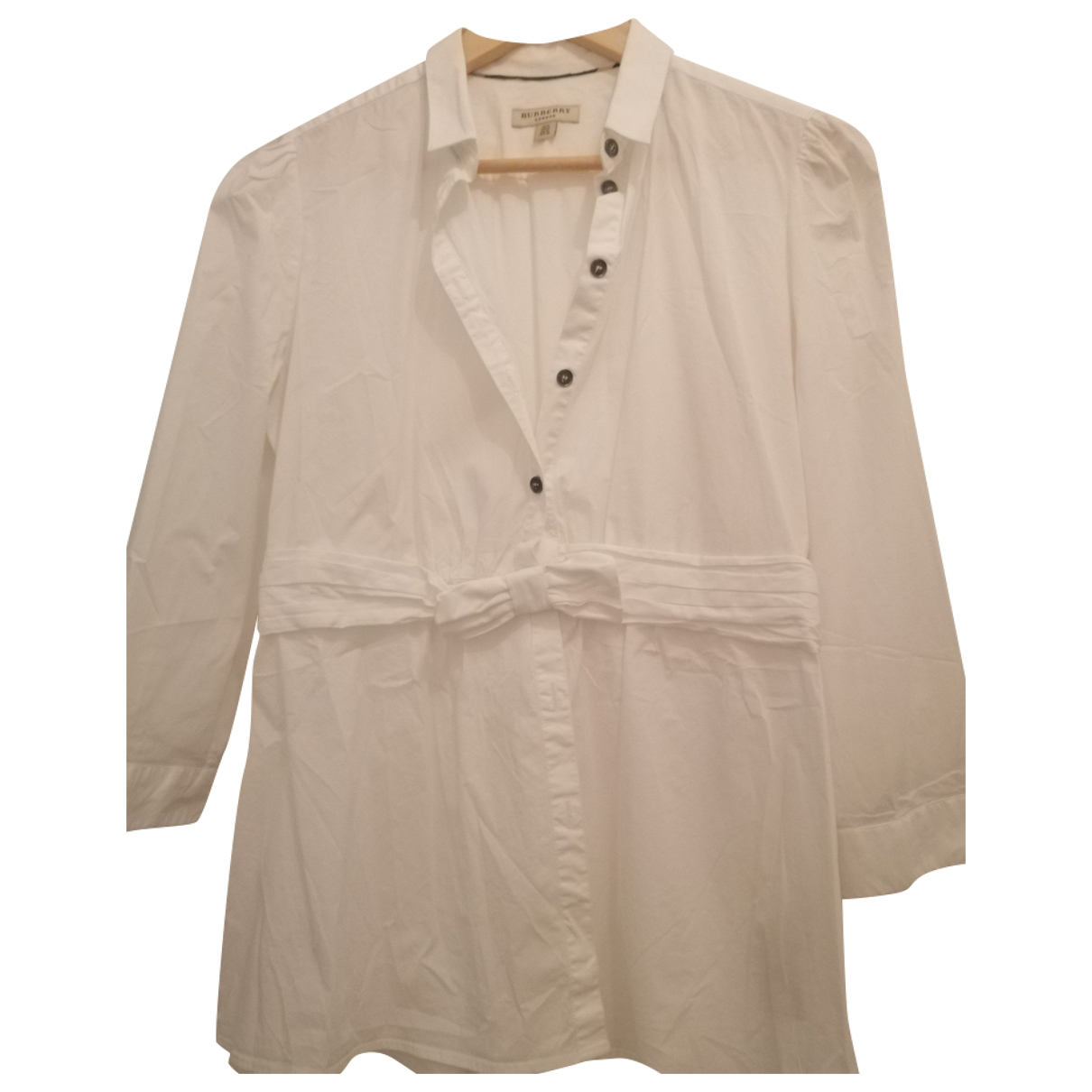 Burberry \N White Cotton  top for Women 10 UK