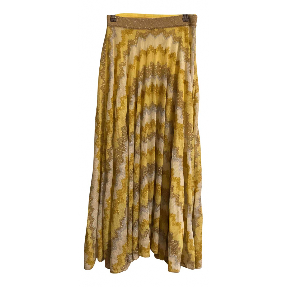 Missoni \N Yellow skirt for Women 42 IT