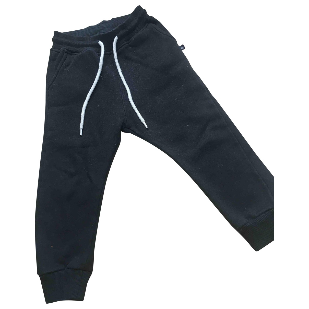 Sweet Pants \N Black Cotton Trousers for Kids 4 years - up to 102cm FR