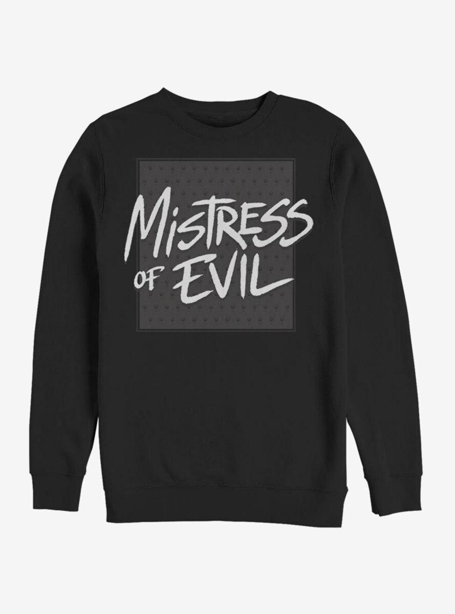 Disney Maleficent: Mistress Of Evil Bold Text Sweatshirt