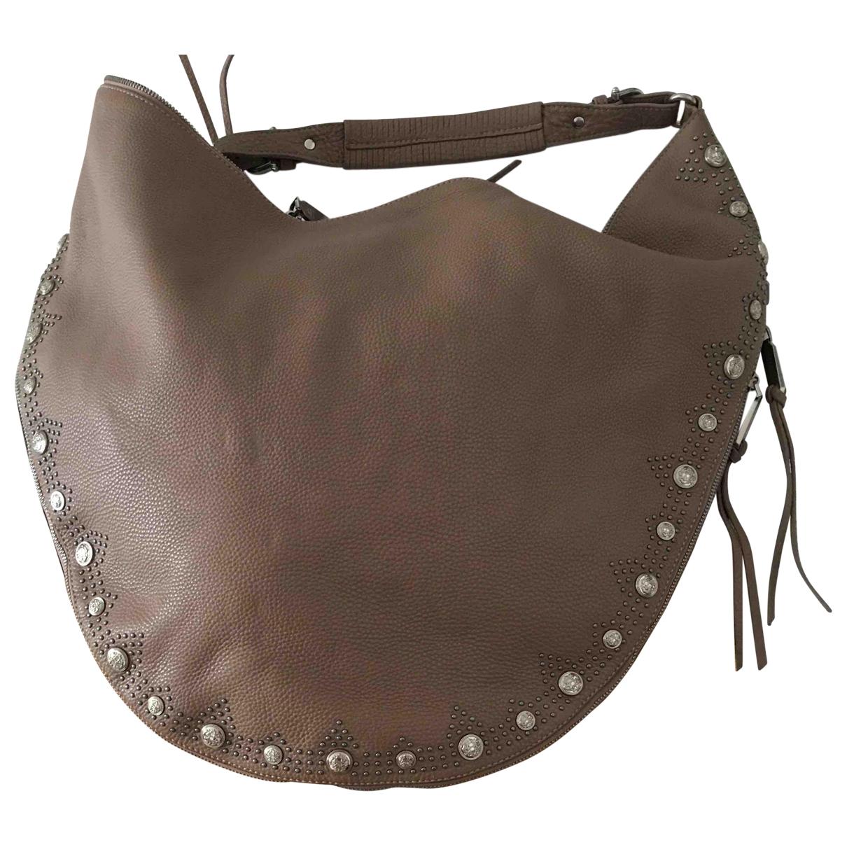 Etienne Aigner \N Beige Leather handbag for Women \N