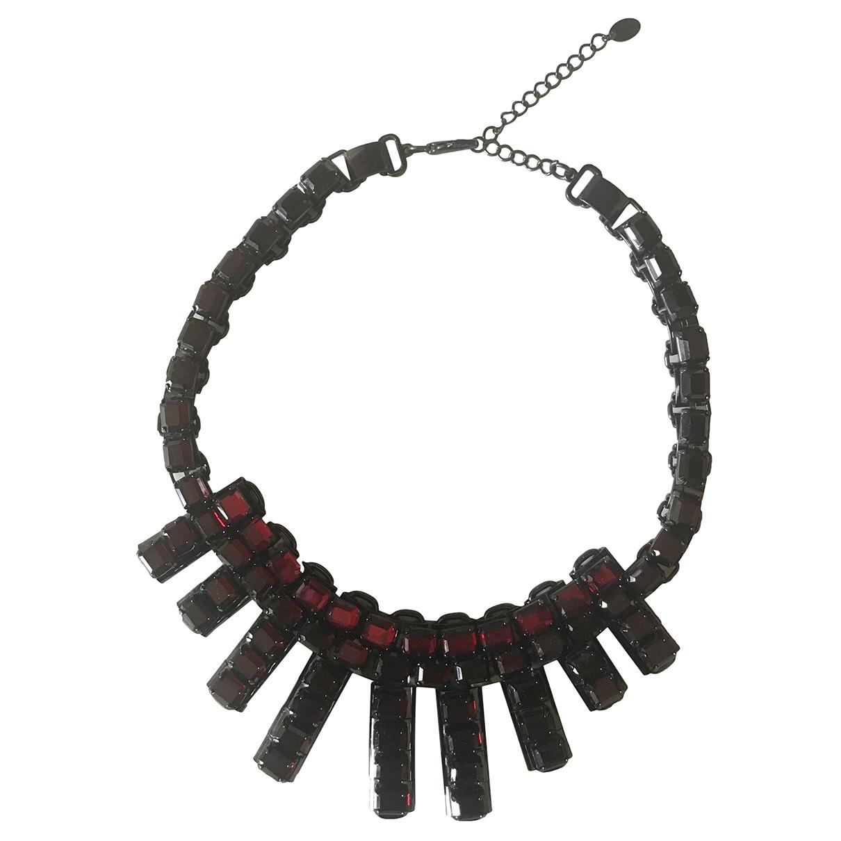 Zara \N Red Metal necklace for Women \N