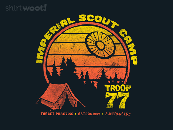 Imperial Scout Camp T Shirt