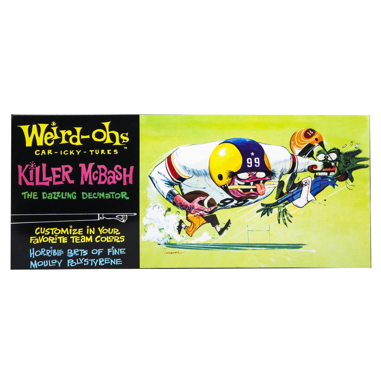 Hawk Model Company Weird-Ohs Killer McBash The Dazzling Decimator Monster Model Kit