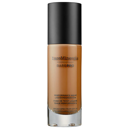 bareMinerals BarePRO Performance Wear Liquid Foundation Broad Spectrum SPF 20, One Size , No Color Family