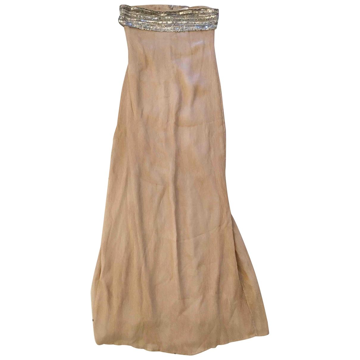 Diane Von Furstenberg \N Pink Silk dress for Women 10 UK