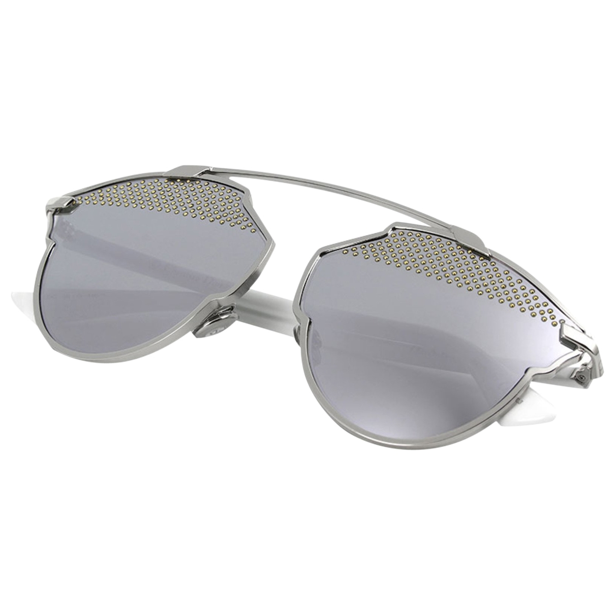 Dior So Real  White Metal Sunglasses for Women \N