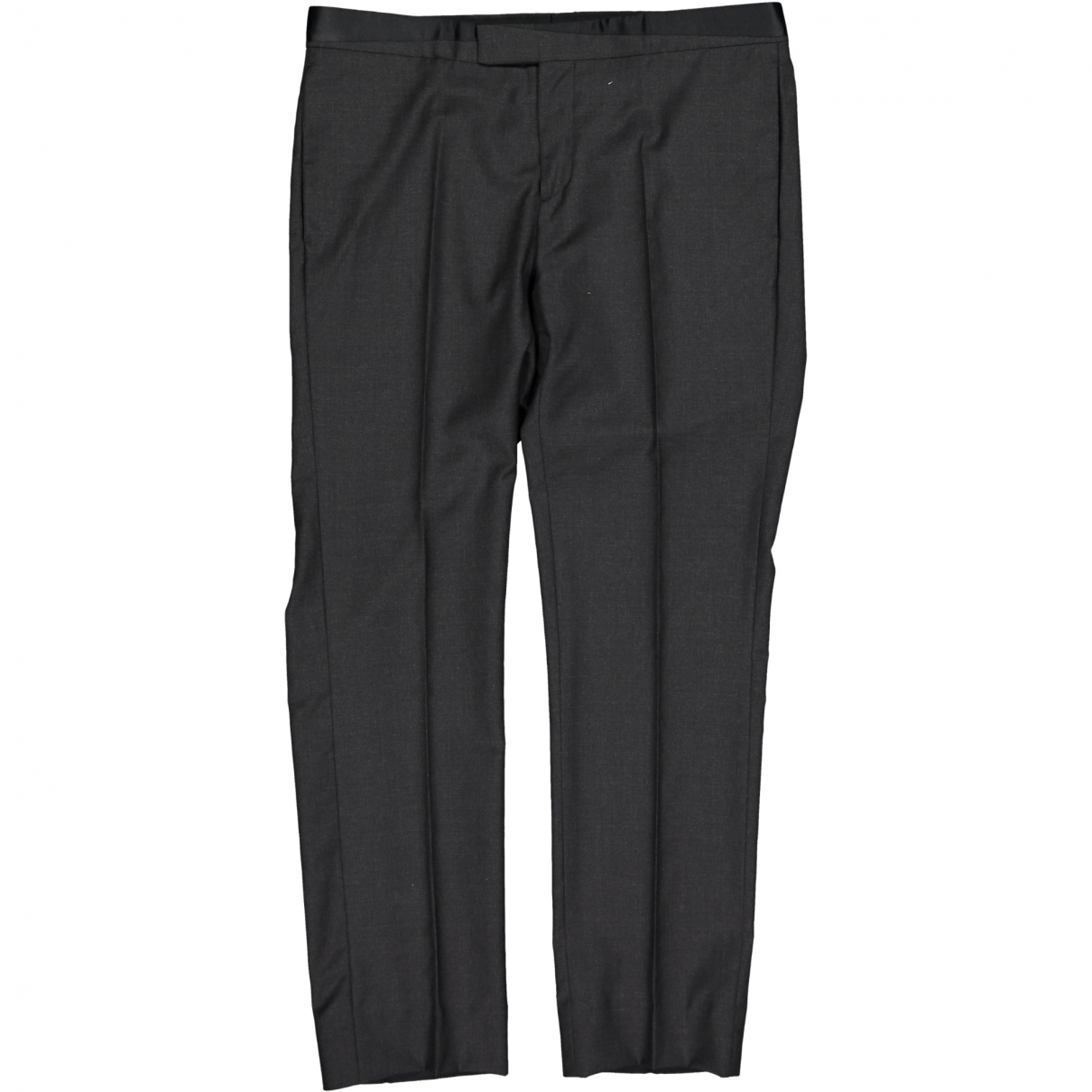 Dior \N Grey Wool Trousers for Men XXXL International