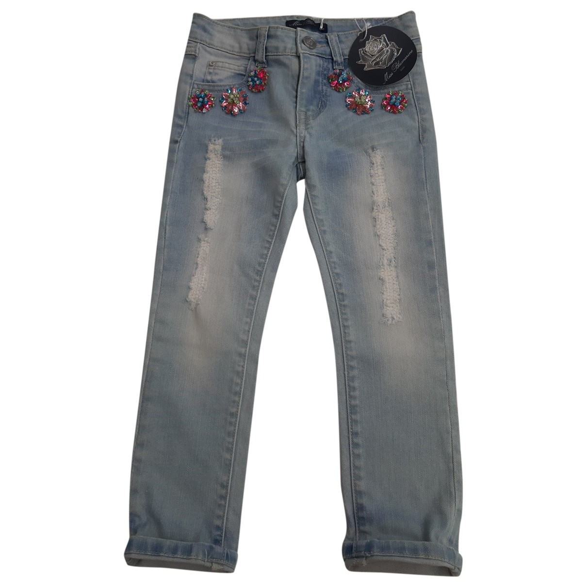 Blumarine \N Denim - Jeans Trousers for Kids 6 years - up to 114cm FR