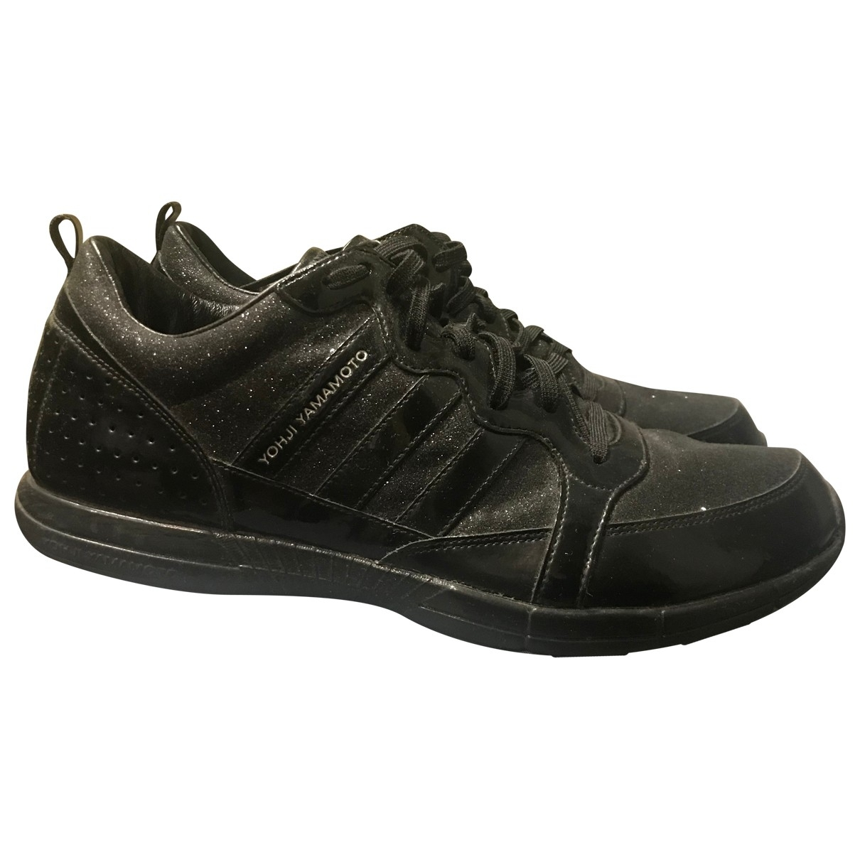 Y-3 \N Black Leather Trainers for Men 10 US