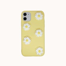 1pc Daisy Print iPhone Case