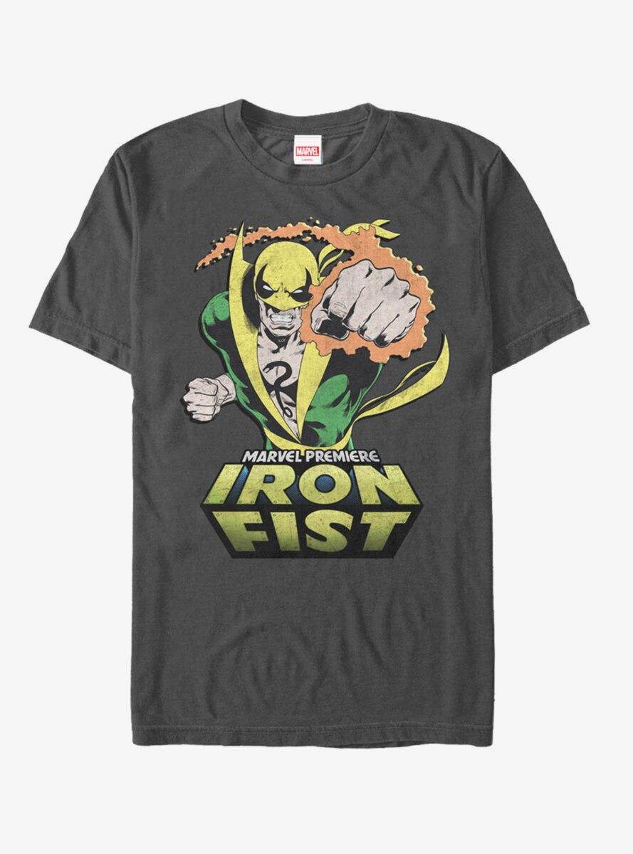 Marvel Iron Fist Punch T-Shirt