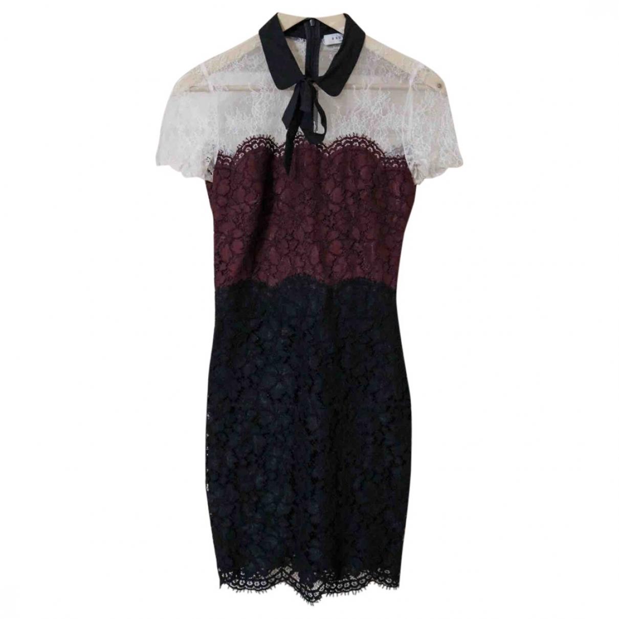 Sandro \N Black Lace dress for Women 1 0-5