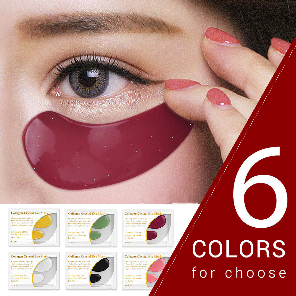 Collagen Eye Mask Soothes Wrinkles Removes Edema Lifts Tightens Eye Mask