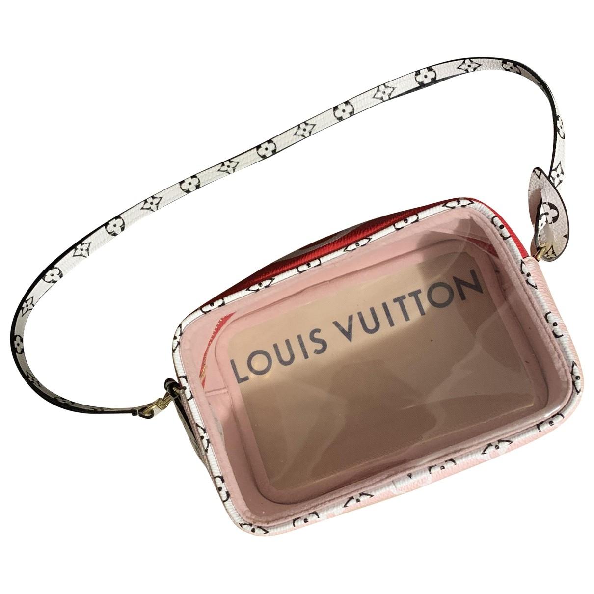 Louis Vuitton Beach Red Cloth Clutch bag for Women \N