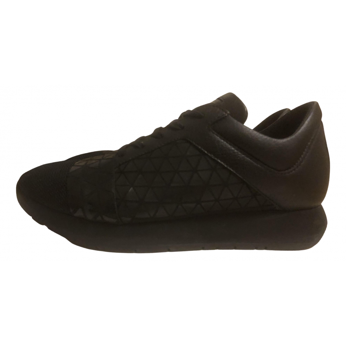 Dirk Bikkembergs N Black Cloth Trainers for Women 37 IT
