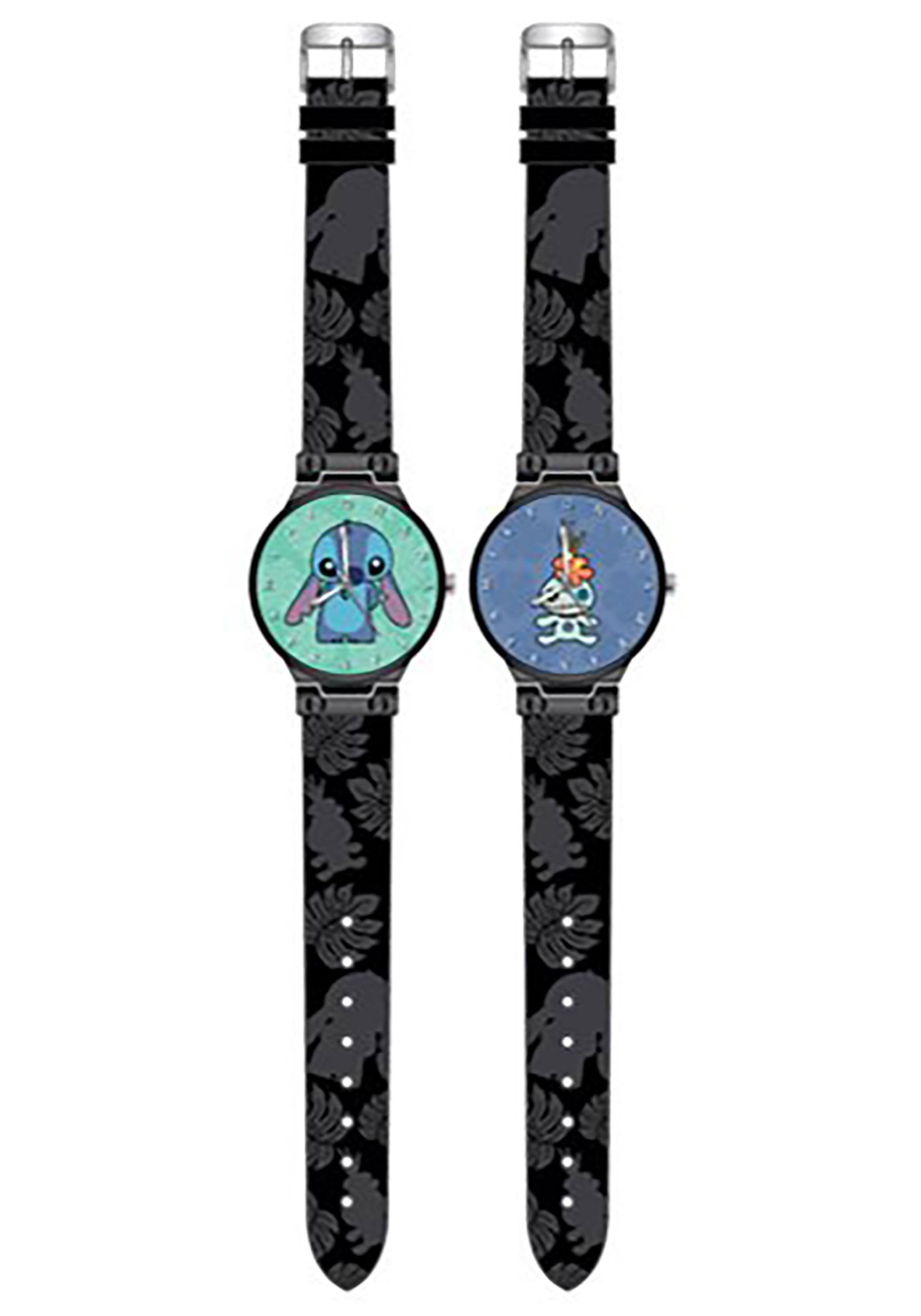 Scrump and Stitch Lilo and Stitch Watch 2-Pack Set