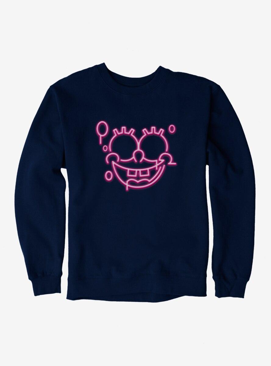SpongeBob SquarePants Neon Light SpongeBob Sweatshirt