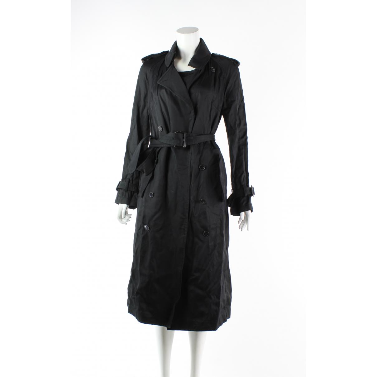 Victoria Beckham \N Black Trench coat for Women 10 UK