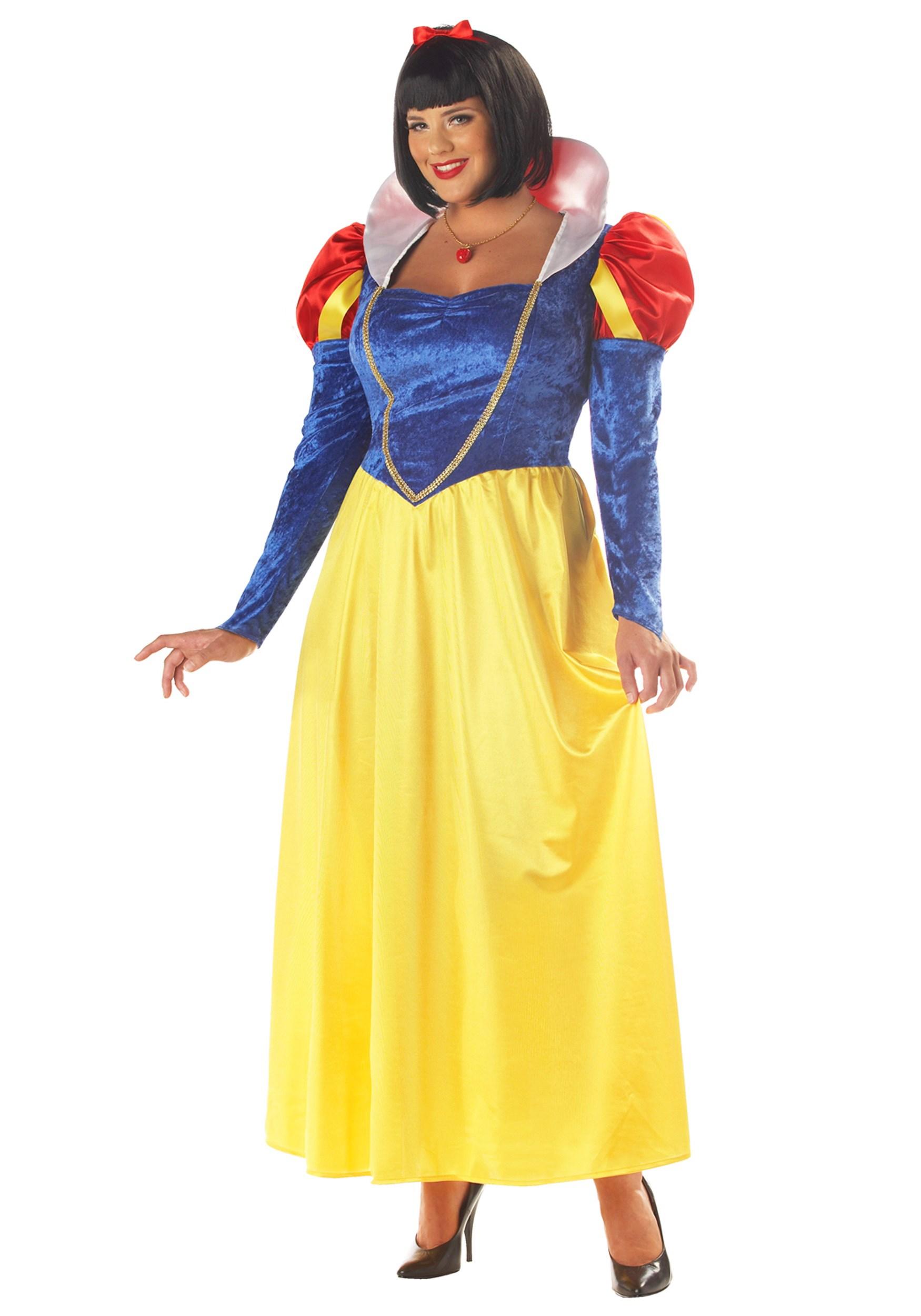 Women's Plus Size Snow White Costume