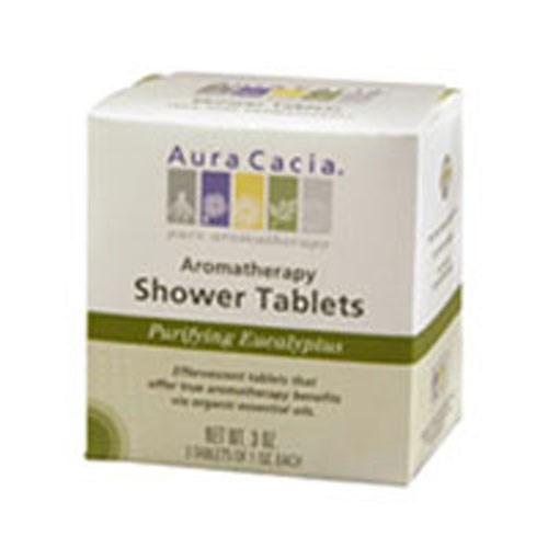 Shower Tablets Eucalyptus, 3 Tablets by Aura Cacia