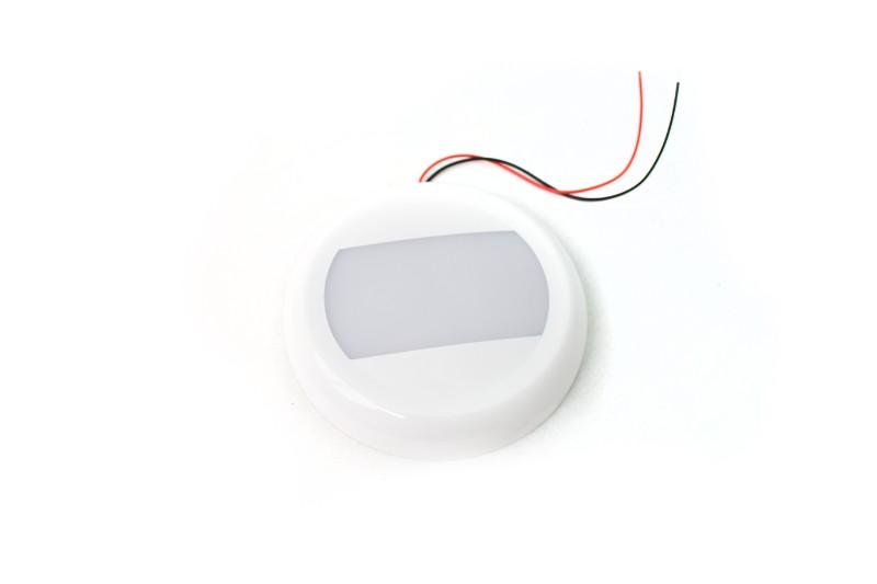Race Sport Lighting RS9101VS Vehicle Switch 24-Watt Round LED Interior SMART TOUCH Light - 10-30V Range, IP67, Flush Mount and bracket