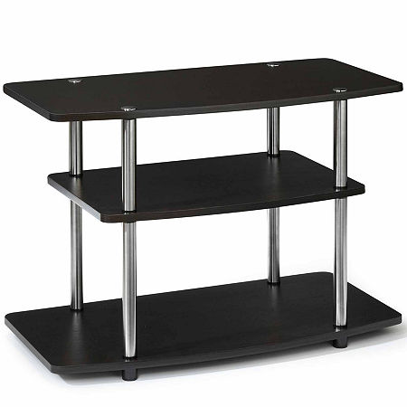 Fenton 3-Tier TV Stand, One Size , Brown