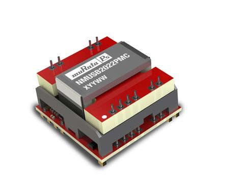 Murata NMUSB2022PMC Isolated DC-DC Converter Surface Mount, Voltage in 4.5 → 5.5 V dc, Voltage out 5V dc Medical