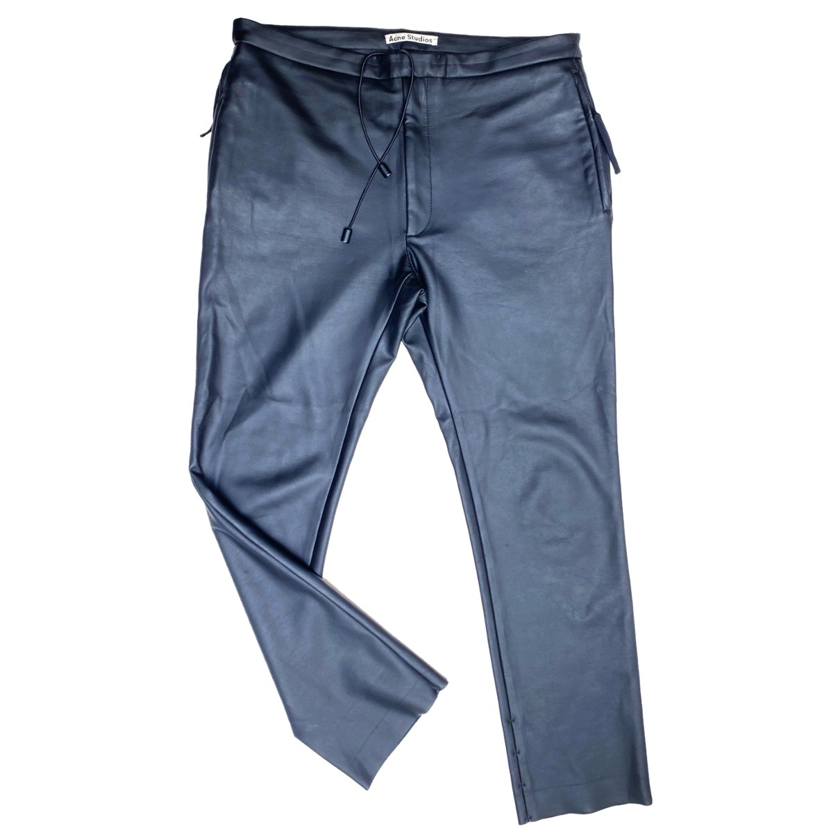 Acne Studios \N Black Trousers for Men 50 IT
