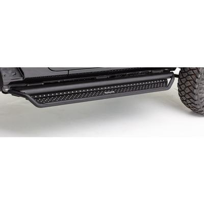 Go Rhino Dominator D1 Side Steps with Drop Steps (Black) - D14235T