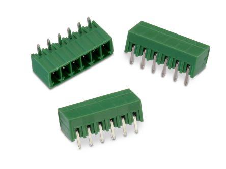 Wurth Elektronik , WR-TBL, 3221, 7 Way, 1 Row, Horizontal PCB Header (465)