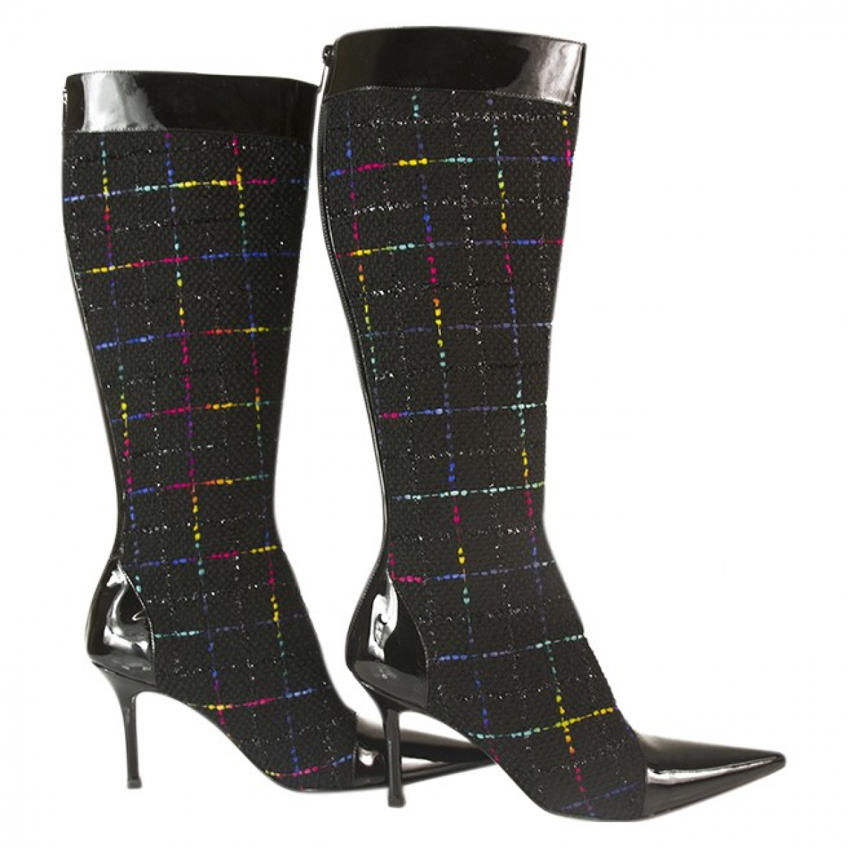 Gina \N Multicolour Cloth Boots for Women 6 UK