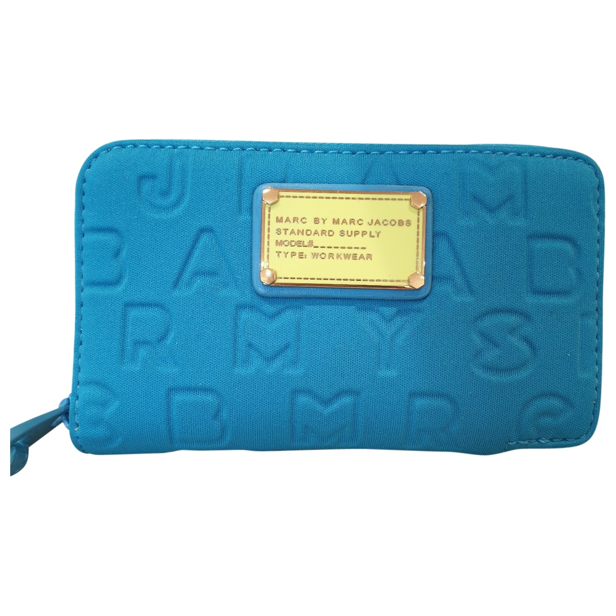 Marc By Marc Jacobs \N Blue Cloth wallet for Women \N