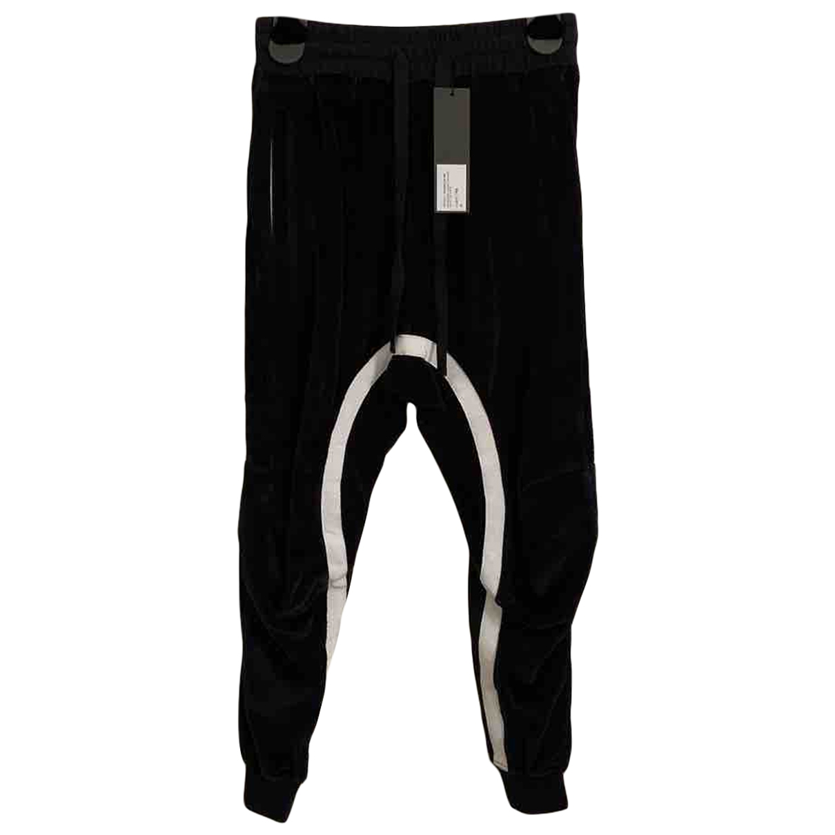 Haider Ackermann \N Black Velvet Trousers for Men XS International