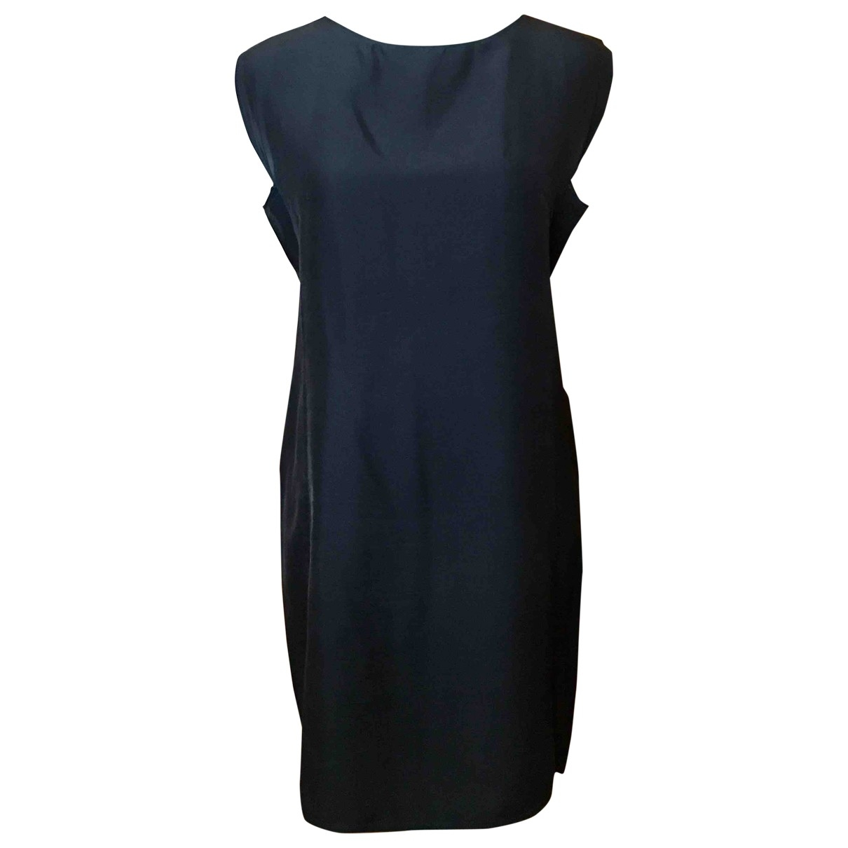 Yves Saint Laurent \N Black Silk dress for Women 38 IT