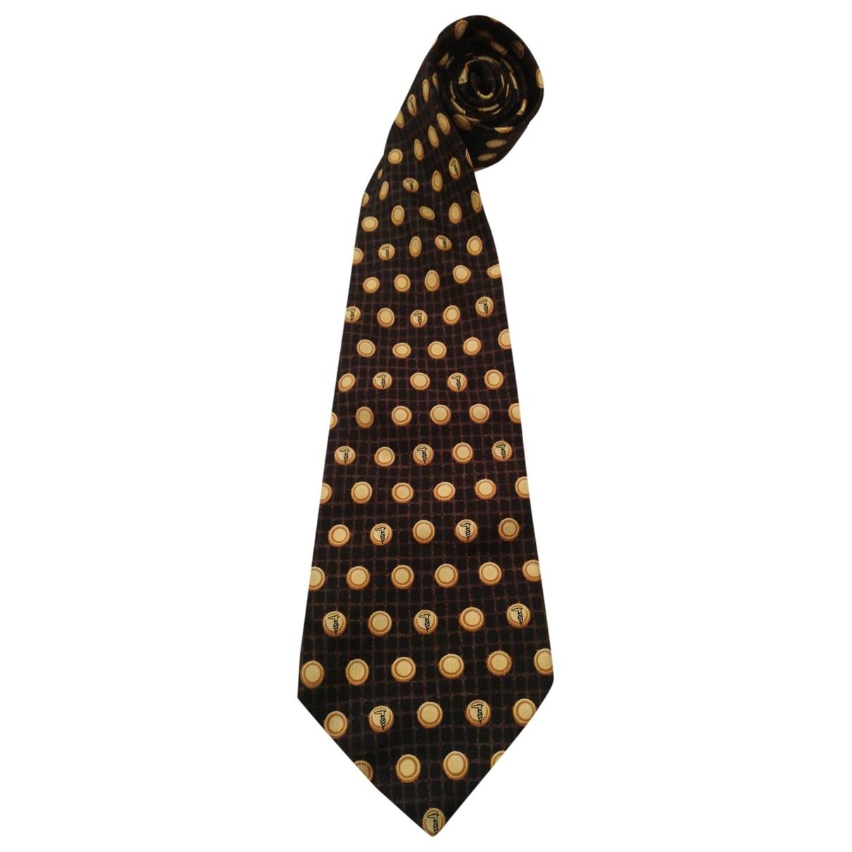 Trussardi \N Multicolour Silk Ties for Men \N