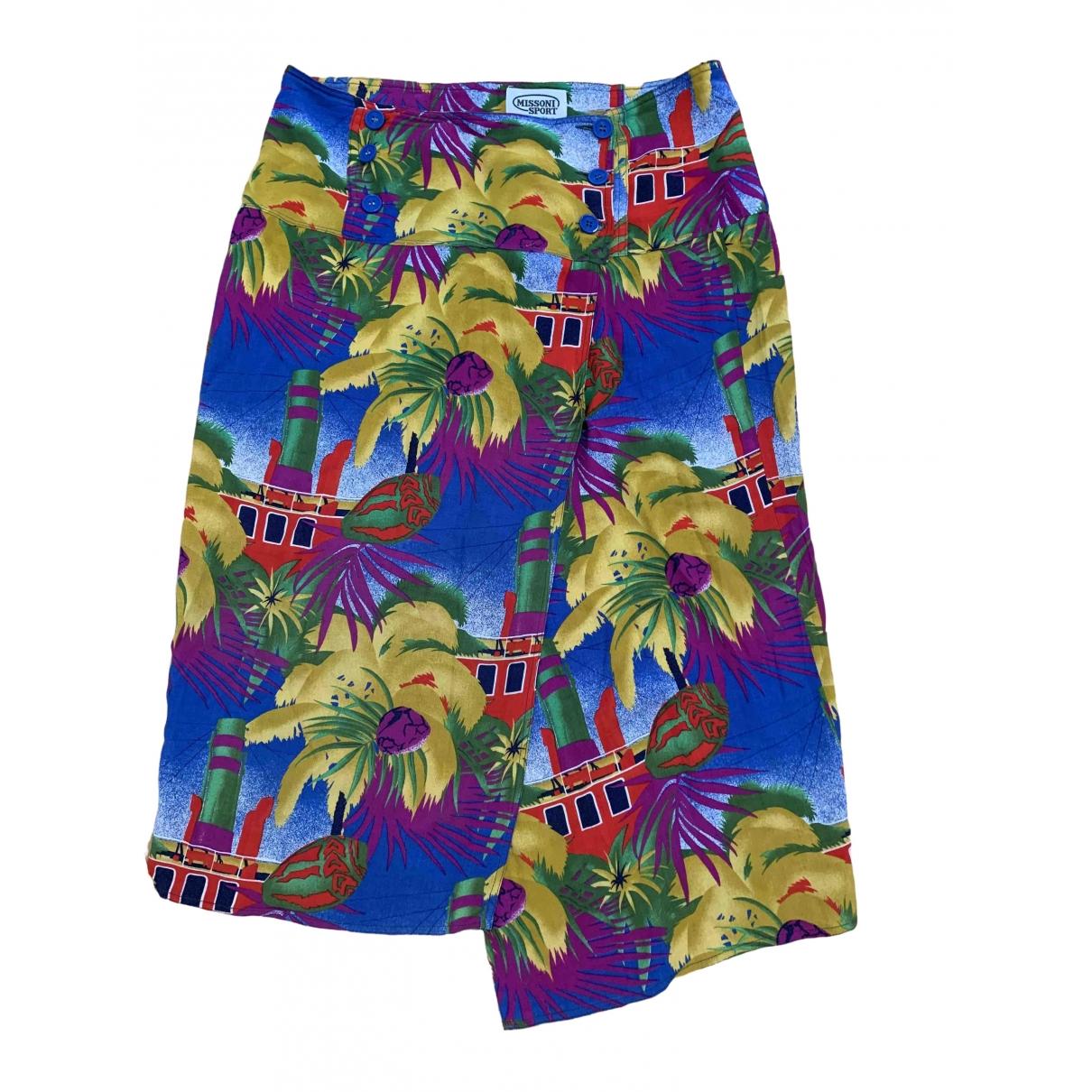 Missoni \N Purple Cotton skirt for Women 40 FR