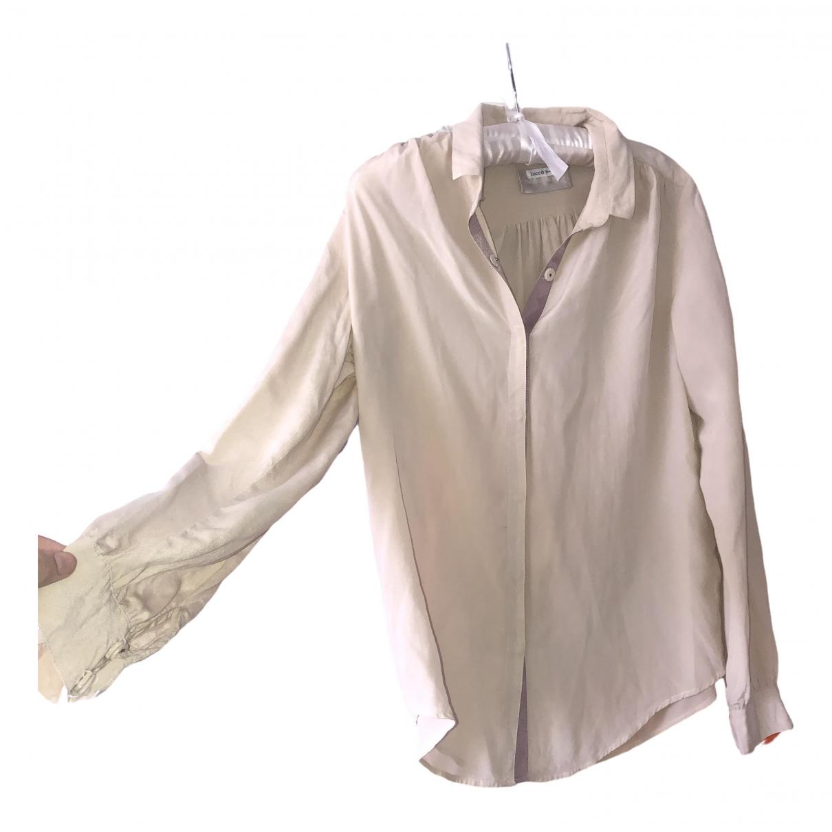 Zadig & Voltaire \N Beige Silk  top for Women S International