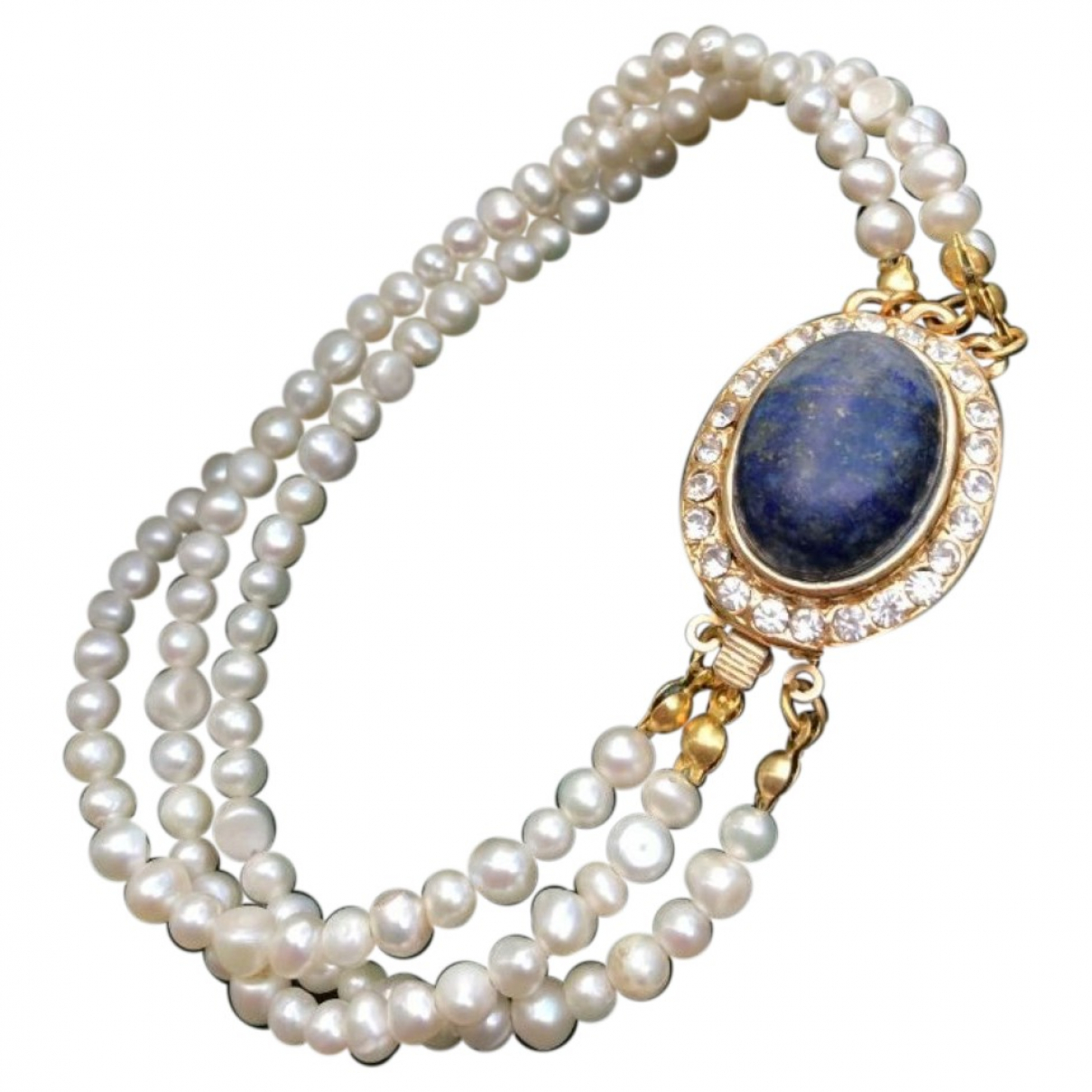 Non Signé / Unsigned Nacre Pearls bracelet for Women \N