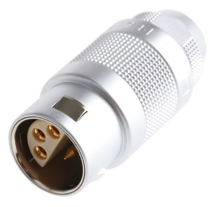 Lemo Connector, 6 contacts Cable Mount Plug, Solder IP50