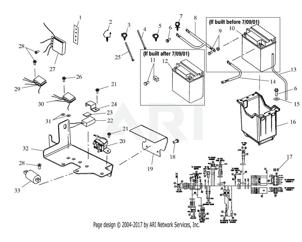 Polaris OEM 2460973 Harness   (If built before 1/07/02)[Incl. Circuit Breaker]